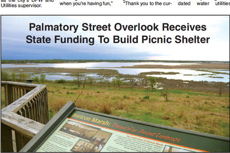 Palmatory Street Overlook Receives  State Funding To Build Picnic Shelter
