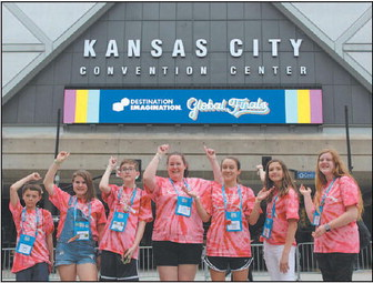 KMS Destination Imagination  Ties For 19th Place  In Global Contest