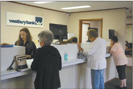 Westbury Bank Opens Temporary Branch