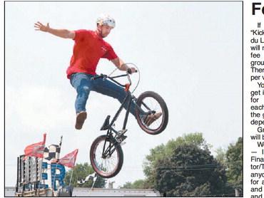 BMX Bike Stunt Show