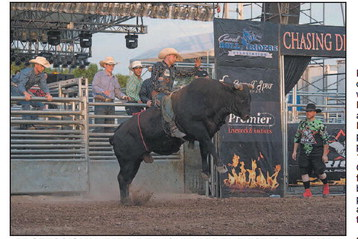 Professional Bull Riding &  Barrel Racing At FDL Fair