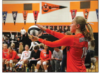 Marshladies Volleyball Season Underway,  Horicon Takes First Place At Home Quad Invitational