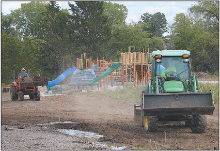 Grass Planted  At Reigle Family  Park