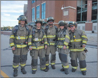Local Firefighters Climb In Memory Of 9/11