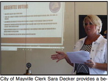 Mayville Clerk Provides Behind-The-Scenes Look At City's Election Process