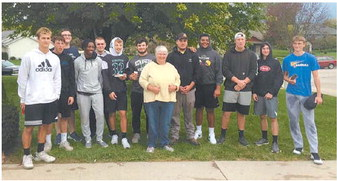 Dorst Family Helped By  KHS Football Team