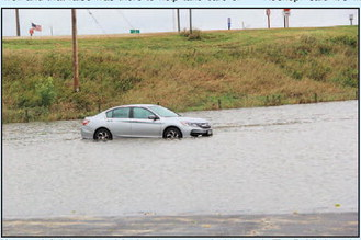 Heavy Rainfall Causes Flooding Throughout Lomira