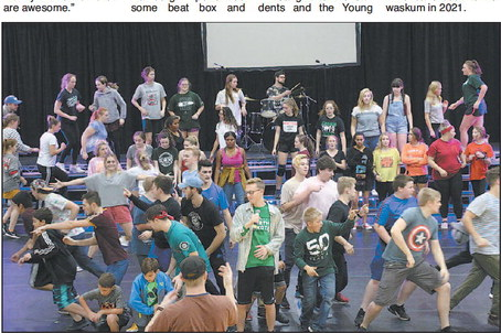 Young Americans Perform In Kewaskum