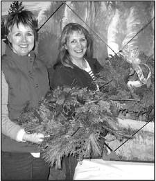 Create A Winter Wreath