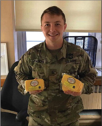 Widmer's Cheese Donates  To Cheese 4 Heroes
