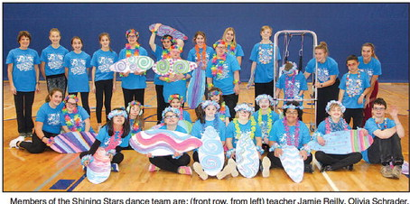 Shining Stars  Dance Team  Continues To  Shine And Grow