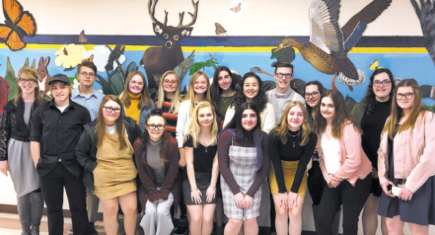 Campbellsport  High School  Forensics Team  Does Well
