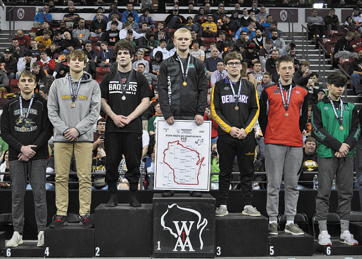 Scoles Wins A Thriller To  Become Kewaskum's First  Freshman State Champ