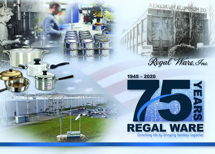 Regal Ware Is Proud To Celebrate  Its 75th Anniversary