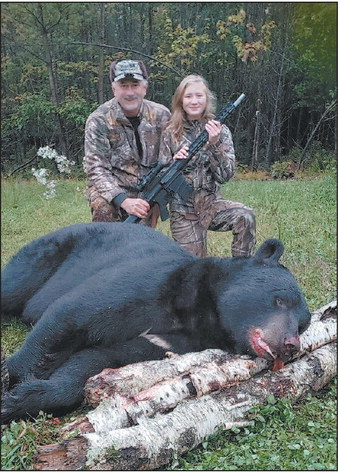 Local Girl Harvests  Potential State-Record Bear