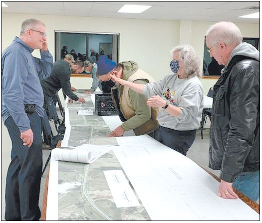 Residents Learn About  Highway SS Project