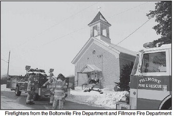 Firefighters Respond To  Chimney Fire In Boltonville