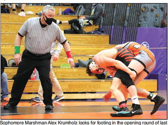 Trio Of Marshmen Fall Short  Of State At Dodgeland