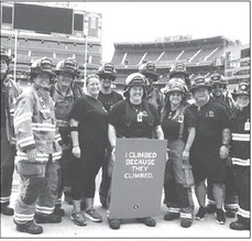 Kewaskum Firefighters Climb Stairs For 9/11
